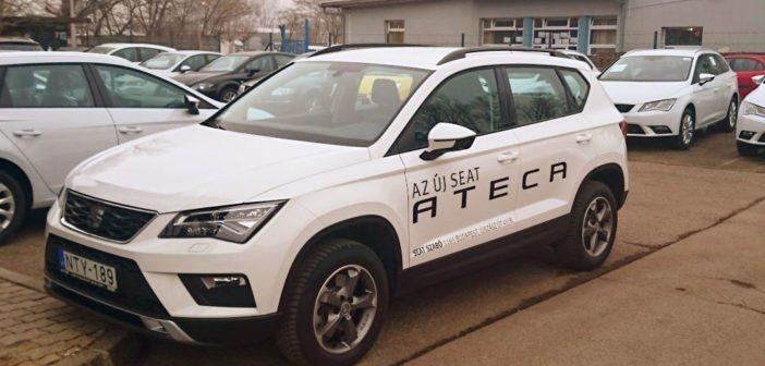 SEAT Ateca – Mi saját magunk is leteszteltük a SEAT SUV példányát.