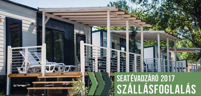 X. SEAT évadzáró 2017 – szállás foglalás