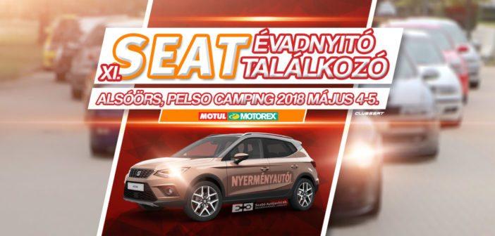 XI. SEAT Évadnyitó Találkozó: 2018.05.04-05