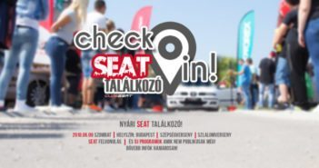 Check In - SEAT találkozó 2018