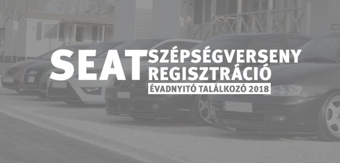 SEAT szépségverseny regisztráció